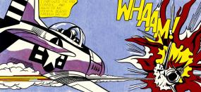 Whaam! Roy Lichtenstein Pop Art