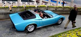 Mythical '68 Lamborghini Miura Roadster