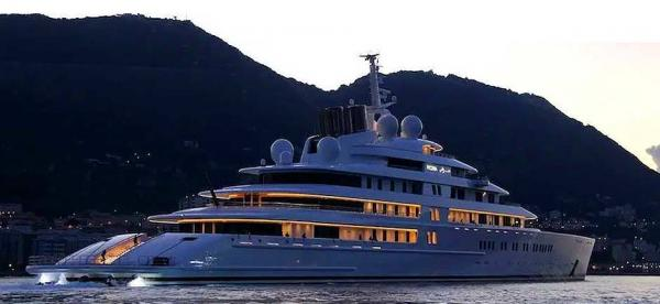 megayachts : Luxury for the super rich